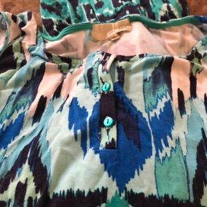 Dept Maxi Jurk.Dept 222 Dresses Colorful Maxi Dress From Bealls Size 1x Poshmark